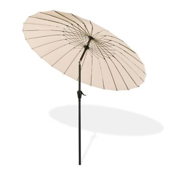Sonnenschirm / Sonnenschutz Tokio rund Ø 2,5 m beige – Bild $_i