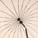 Sonnenschirm Gartenschirm Schirm Kurbelschirm Tokio rund 2,5 m - Farbe nach Wahl