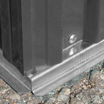 Gerätehaus / Gartenhaus Cardiff Metall 2 qm Anthrazit – Bild $_i