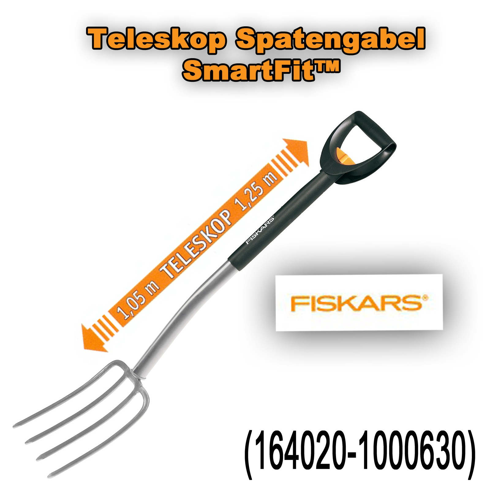 Fiskars Garten Spaten Grabgabeln SmartFit™ Ergonomic™ Auswahl 1000630
