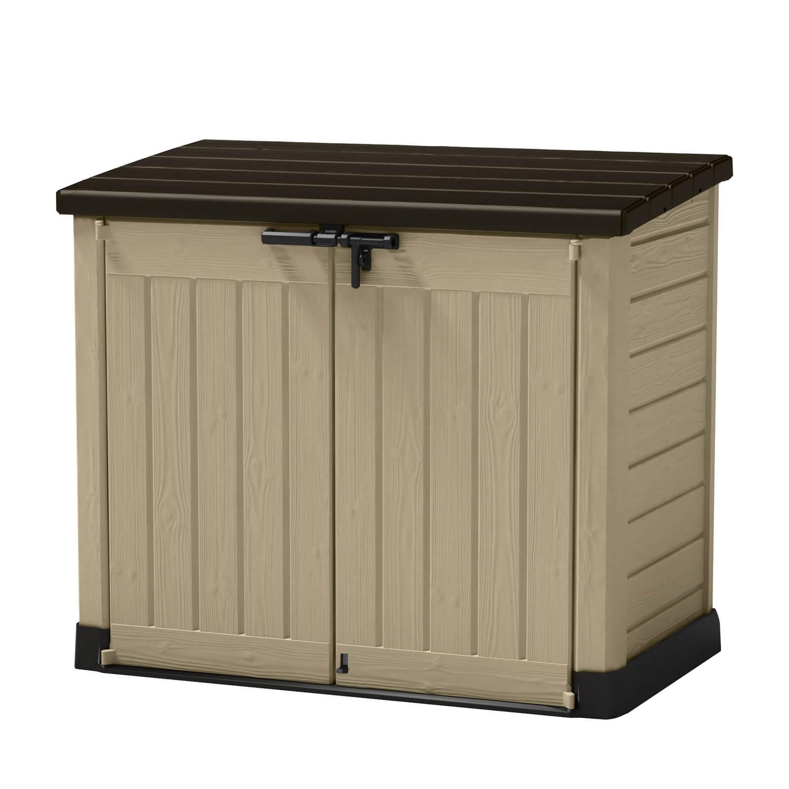 Tepro Keter Gartenbox Aufbewahrungsbox Mülltonnenbox Mülltonnenschrank Store It Out 6027