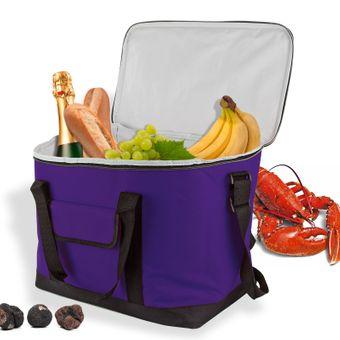 Kühltasche / Kühlbox Lila 32 Liter für z.B. Camping – Bild $_i