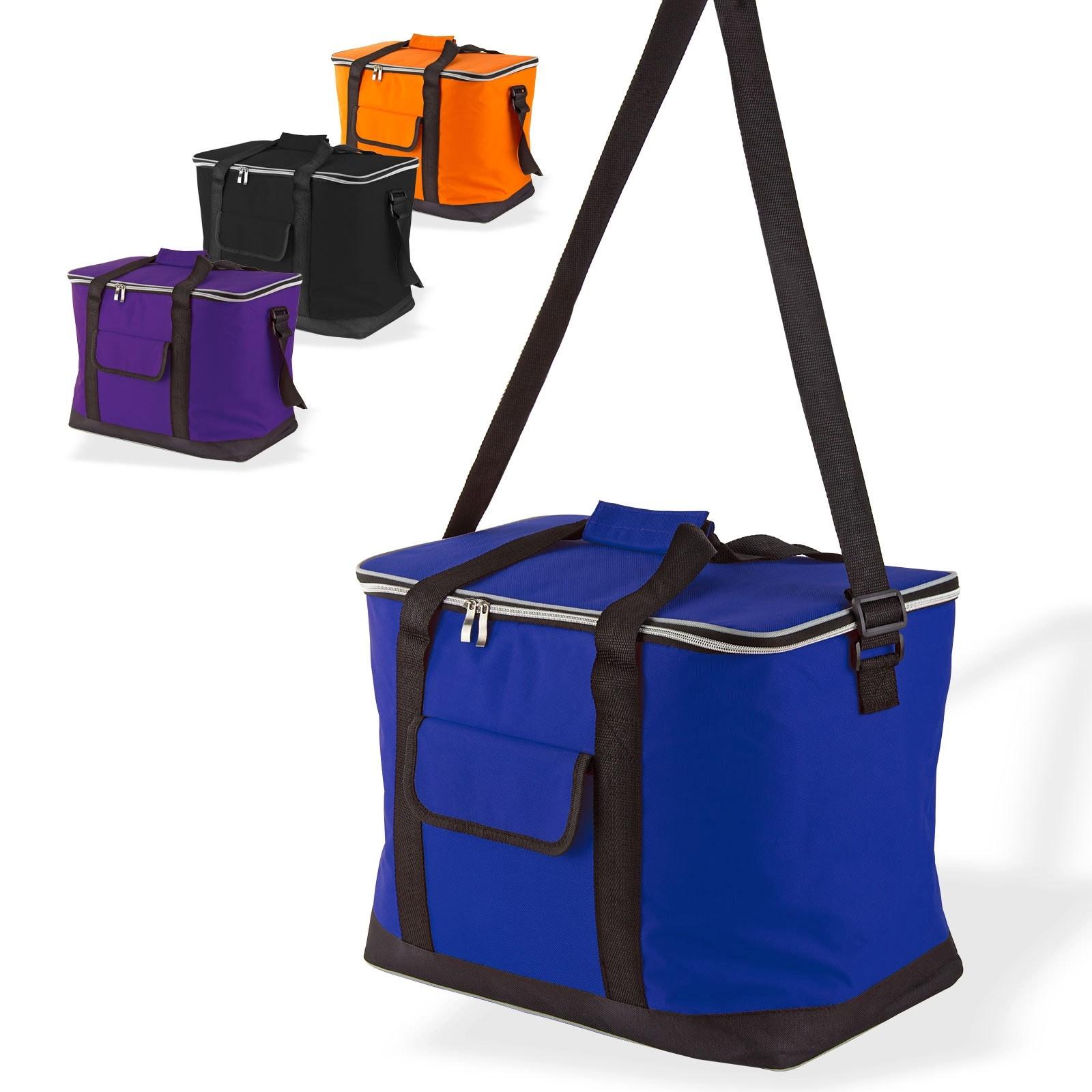 Dema Kühltasche Blau 32 Liter Kühlbox Eisbox für z.B. Camping Picknick tragbar 17246