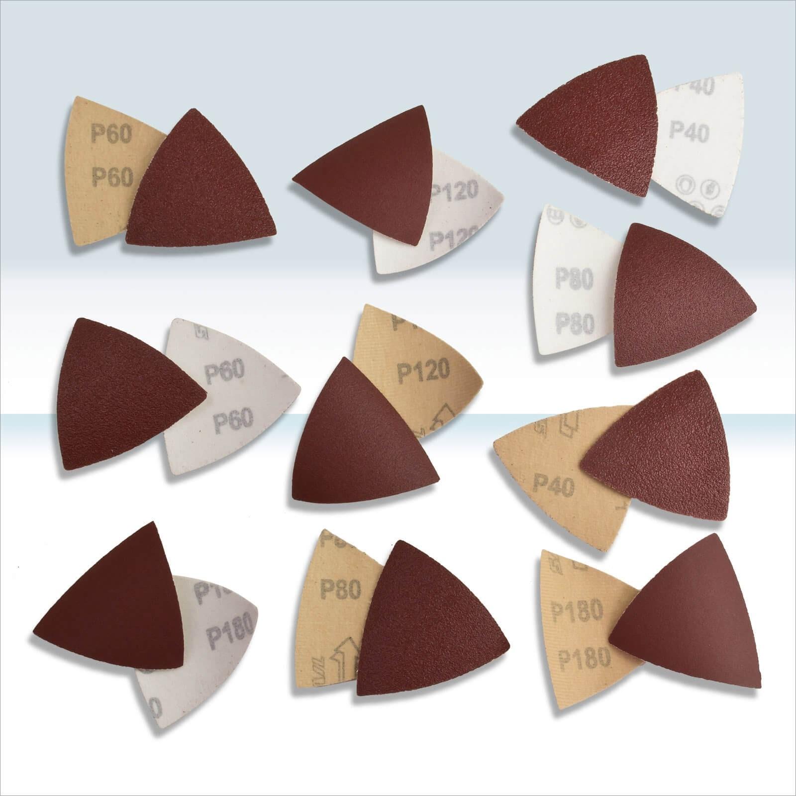 Dema Schleifblätter Set für Dreieckschleifer / Deltaschleifer 100-tlg. 15069