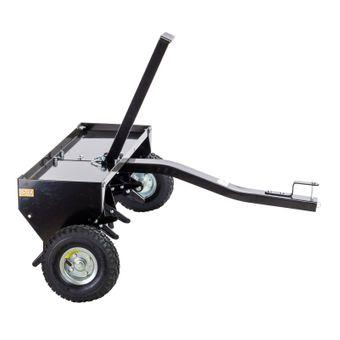 Rasenlüfter Rasenbelüfter Rasen Belüftung Aerifizierer 102 cm Rasentraktor ATV – Bild $_i