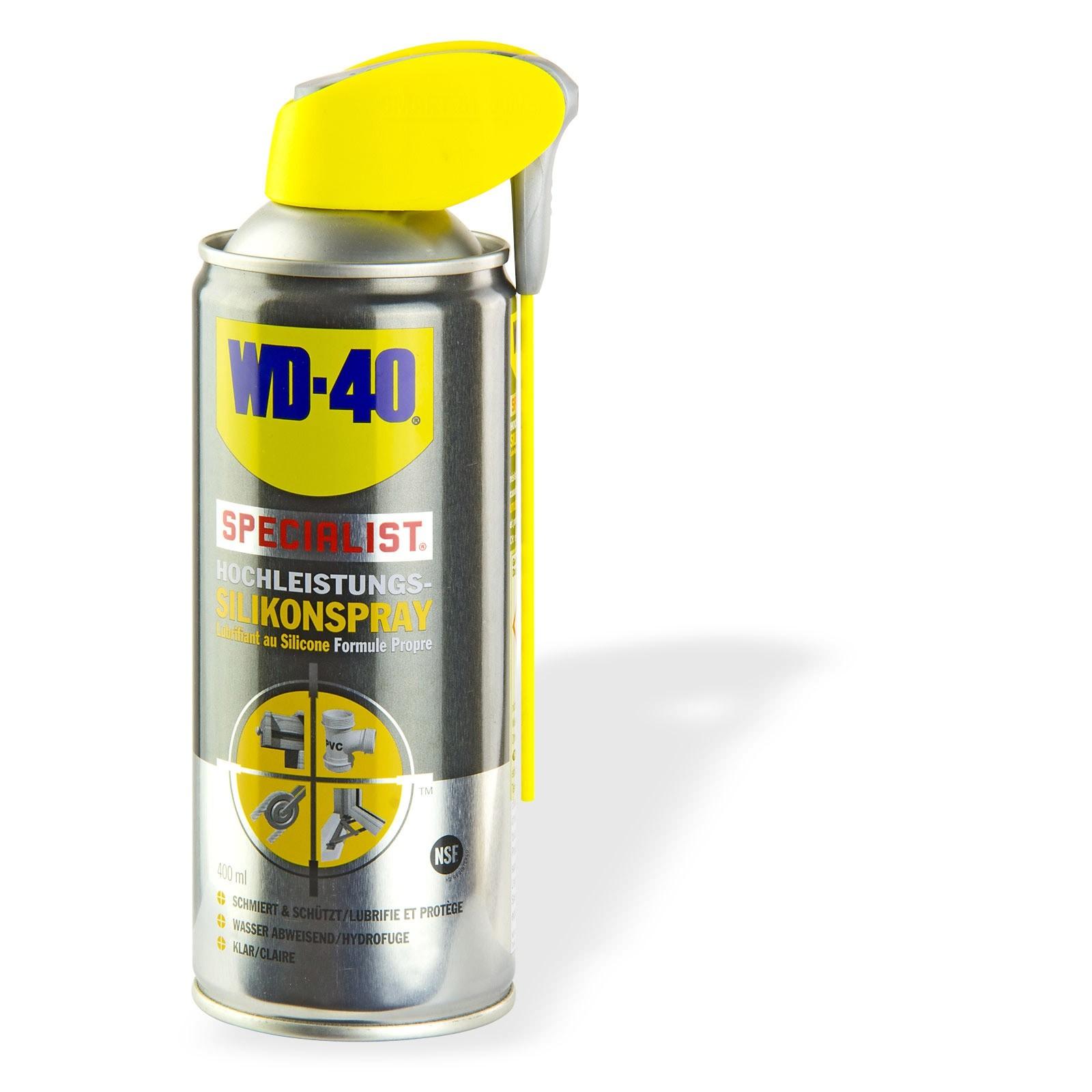 WD 40 WD-40 Silikonspray 400 ml Kunststoffpflege Gummipflege 21145