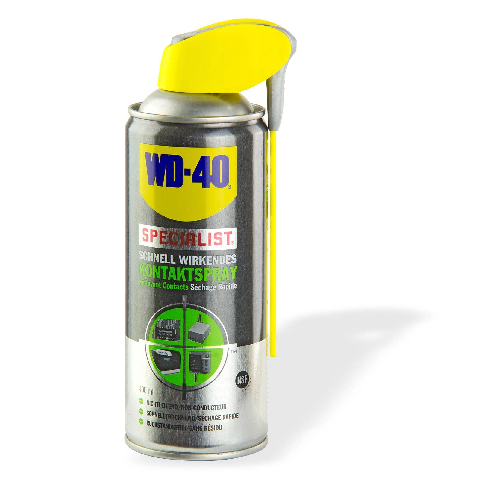 WD 40 WD-40 Kontaktspray 400 ml Kontaktreiniger Kontakt Spray 21148