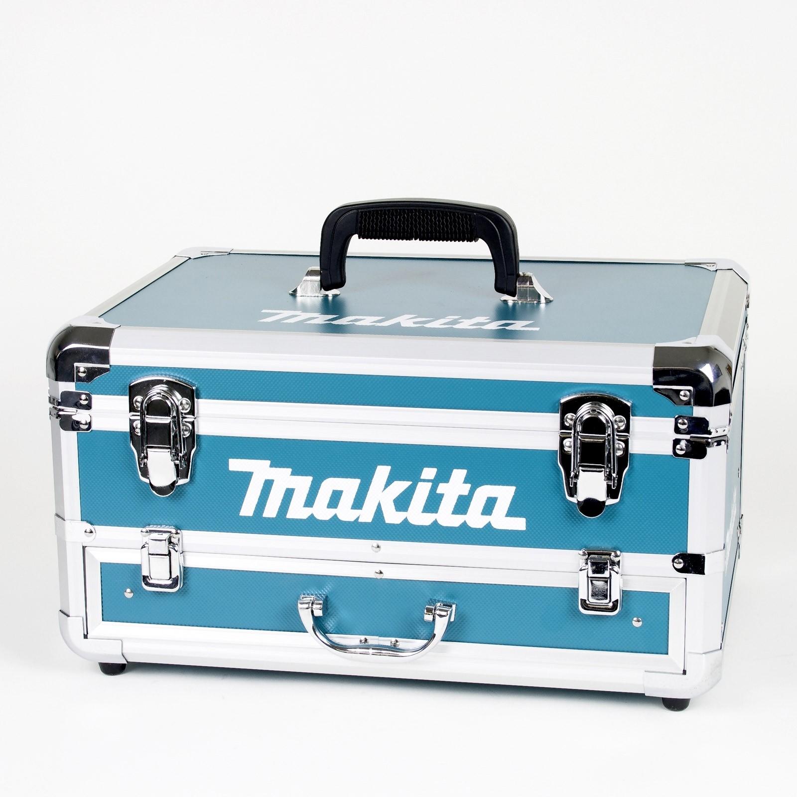Makita Akku Schlagbohrschrauber 18 V Im Alukoffer Dhp453rfx2 96 Tlg