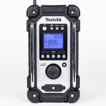 Makita Baustellenradio DMR107 UKW/MW Akku/Netzbetrieb Digitaldisplay – Bild $_i