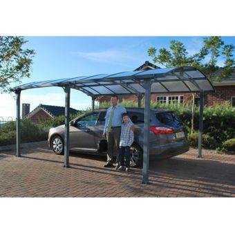 Tepro Palram Aluminium Carport / Einzelcarport Arcadia 5000 – Bild $_i