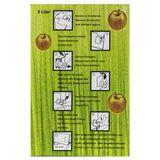 10x Bag in Box Saft-Karton / Faltkarton mit Apfeldekor 5 Liter