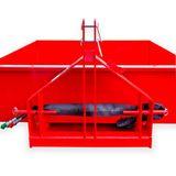 Heckcontainer / Kippmulde Kat 1 + 2 hydraulisch 125x220x40 cm