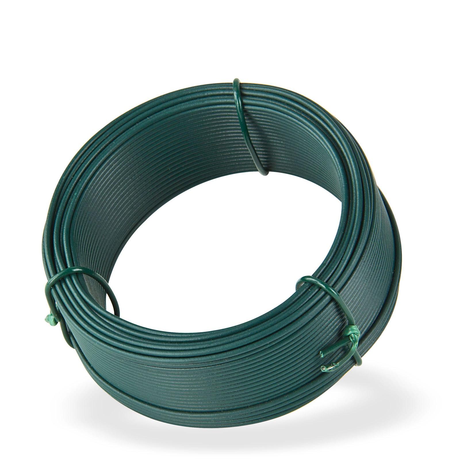 Dema Bindedraht grün 25 m x 1,4 mm Wickeldraht Basteldraht Blumendraht 31302