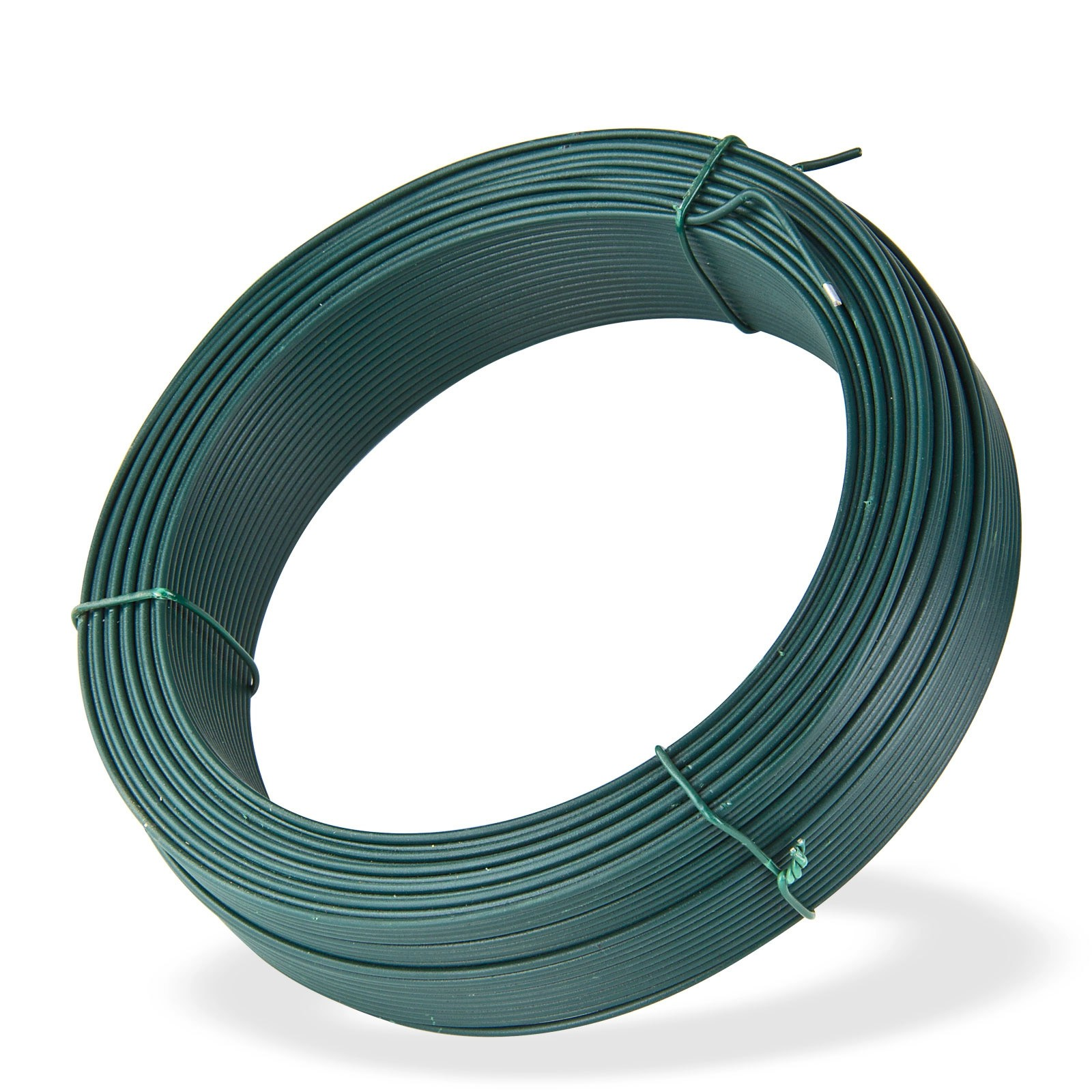 Dema Bindedraht grün 100 m x 2,0 mm Wickeldraht Volierendraht Maschendraht Zaun Draht 31305