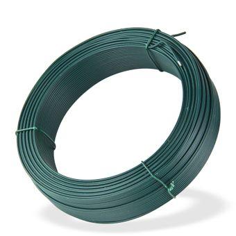 Bindedraht grün 100 m x 2,0 mm