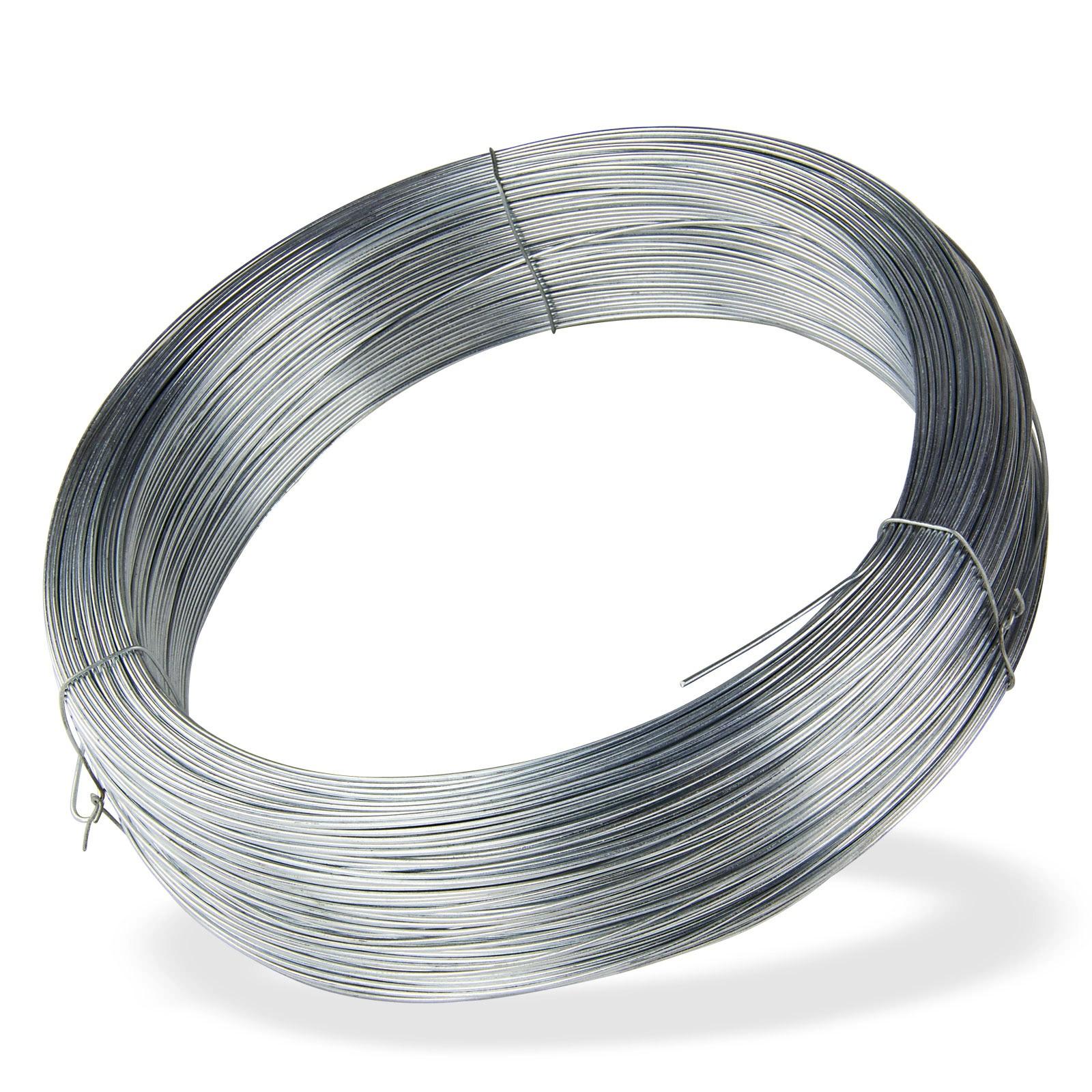Draht / Bindedraht verzinkt 310 m x 1,6 mm 5 kg