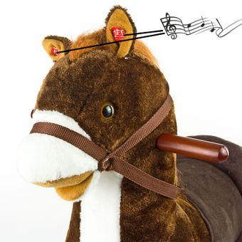 Schaukelpferd Browny Holz Schaukeltier – Bild $_i
