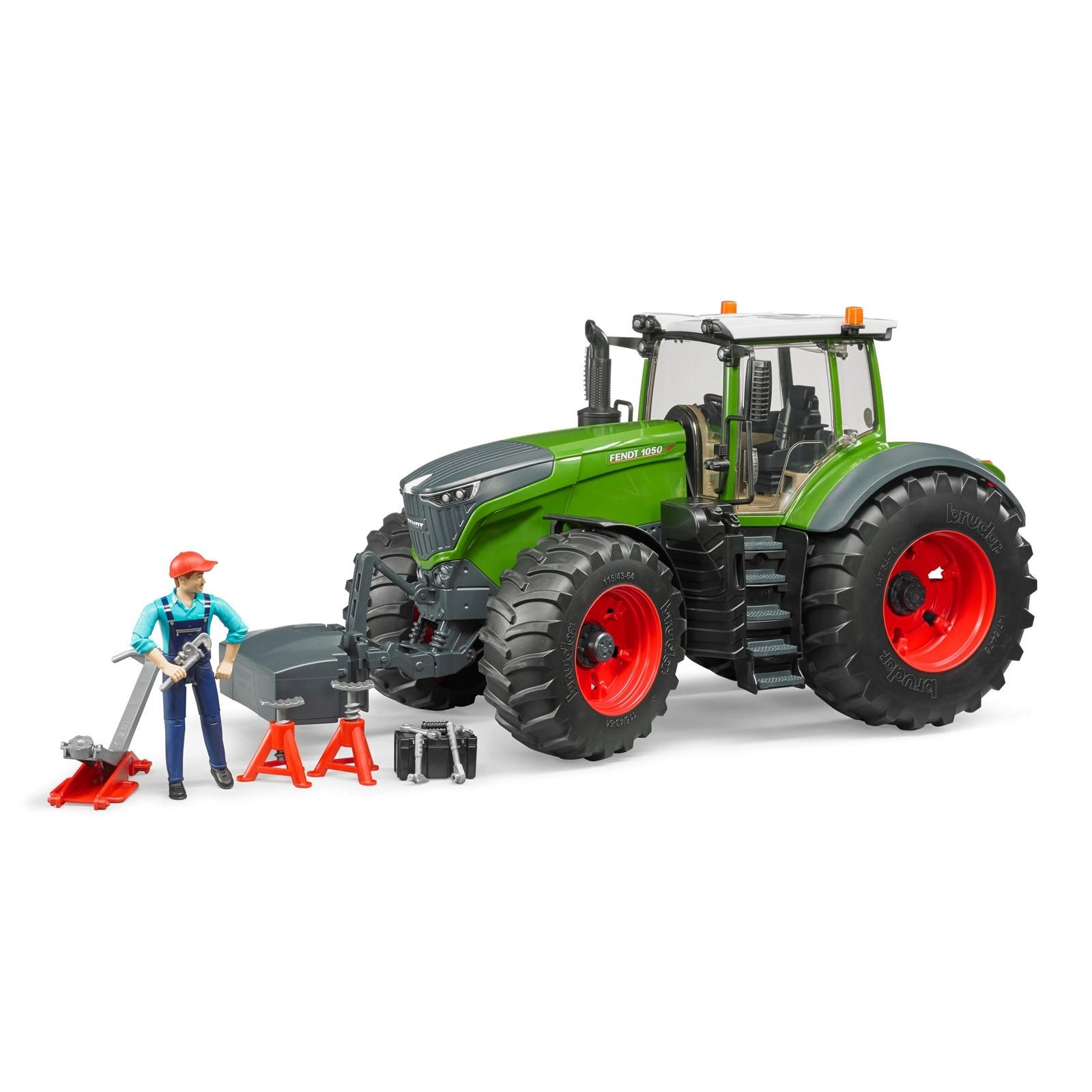 bruder fendt 1050 vario traktor mit mechaniker und. Black Bedroom Furniture Sets. Home Design Ideas