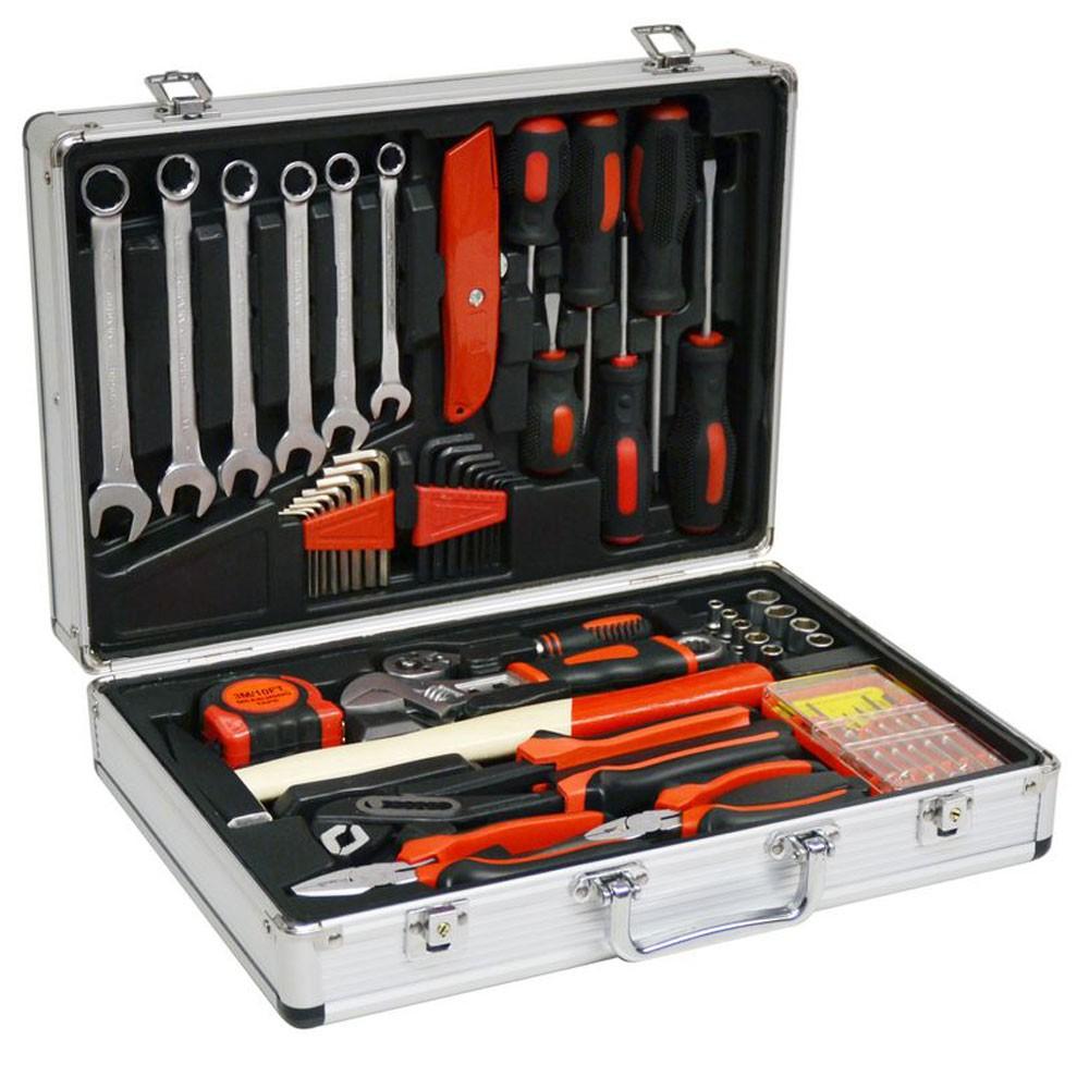 Vintec Werkzeugkoffer / Werkzeugset 51-tlg & Werkzeug universal 73609