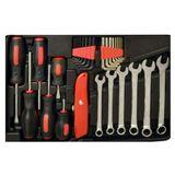 Vintec Werkzeugkoffer / Werkzeugset 51-tlg & Werkzeug universal