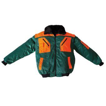 Forst Forstjacke Pilotenjacke grün-orange m/o Futter/Ärmel S - 4XL – Bild $_i