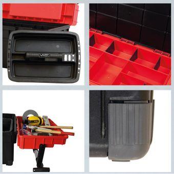 Vintec VT WKM mobiler Werkzeugkoffer Montageeinsatz – Bild $_i
