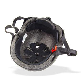 Skaterhelm / Fahrradhelm Schwarz matt Größe M – Bild $_i