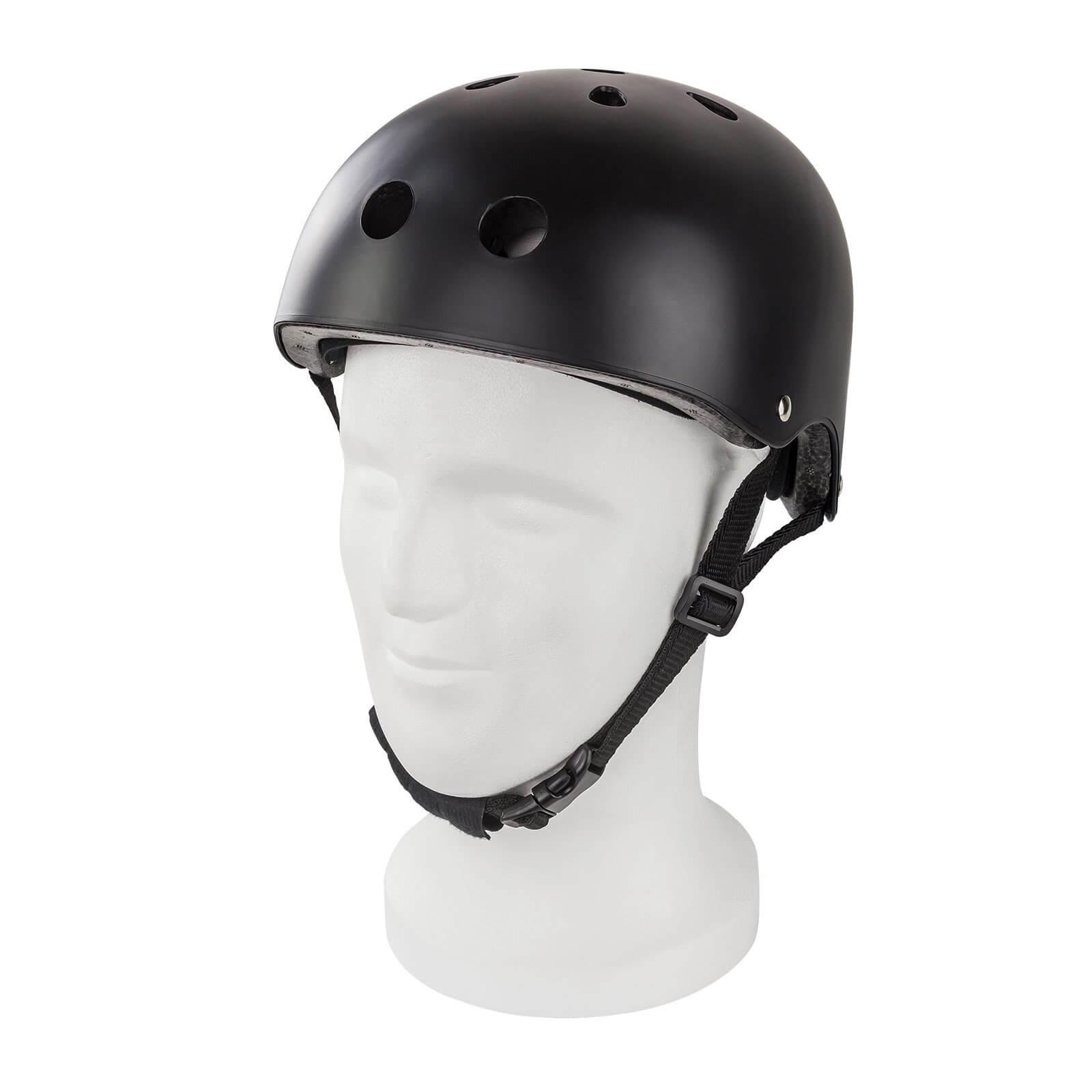 Dema Skaterhelm / Fahrradhelm Schwarz matt Größe L 11227