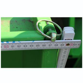 Heckcontainer / Kippmulde L 100 cm mechanisch – Bild $_i