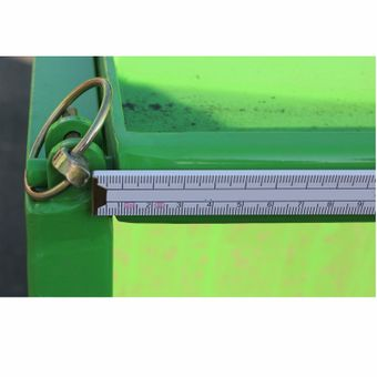 Heckcontainer / Kippmulde L 125 cm mechanisch – Bild $_i
