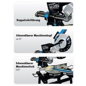 Güde Radial-Kappsäge / Gehrungssäge Set GRK 250/300 – Bild $_i