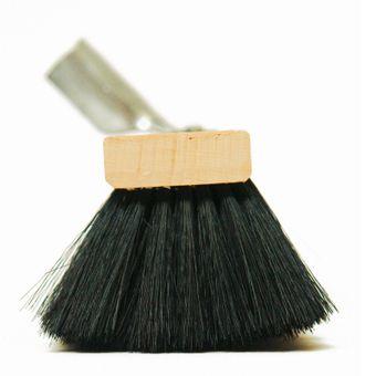 Mischhaarbesen Kehrbesen Besen 60 cm aus Buchenholz + Metallhalter verzinkt – Bild $_i