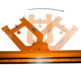 Schneeschieber für Stapler / Gabelstapler 1,5 m / 150 cm