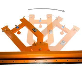 Schneeschild für Stapler / Gabelstapler 2 m – Bild $_i