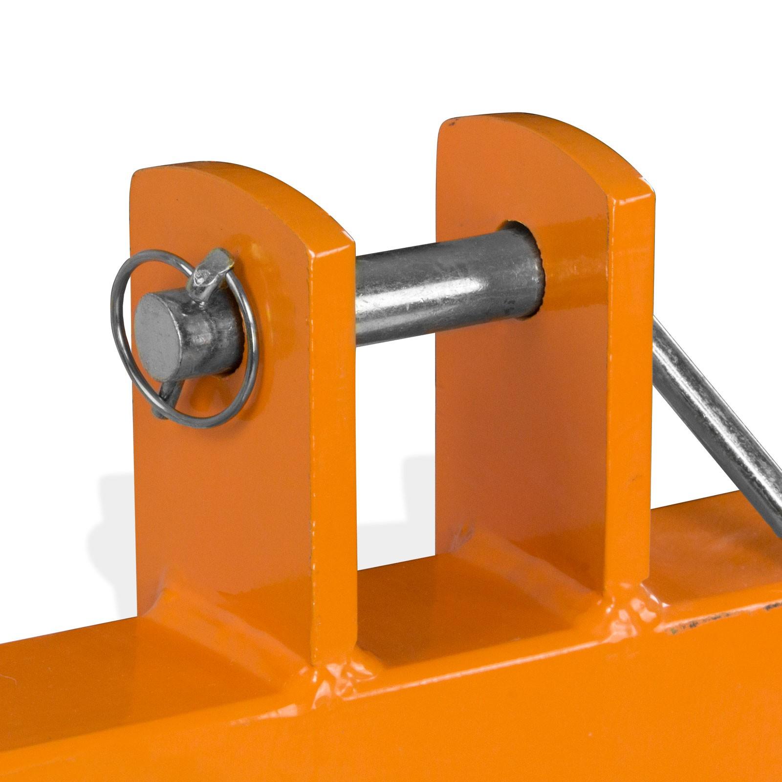 Gabelträger Dreipunktaufnahme Heckhydraulik 2 Gabelzinken Palettengabel
