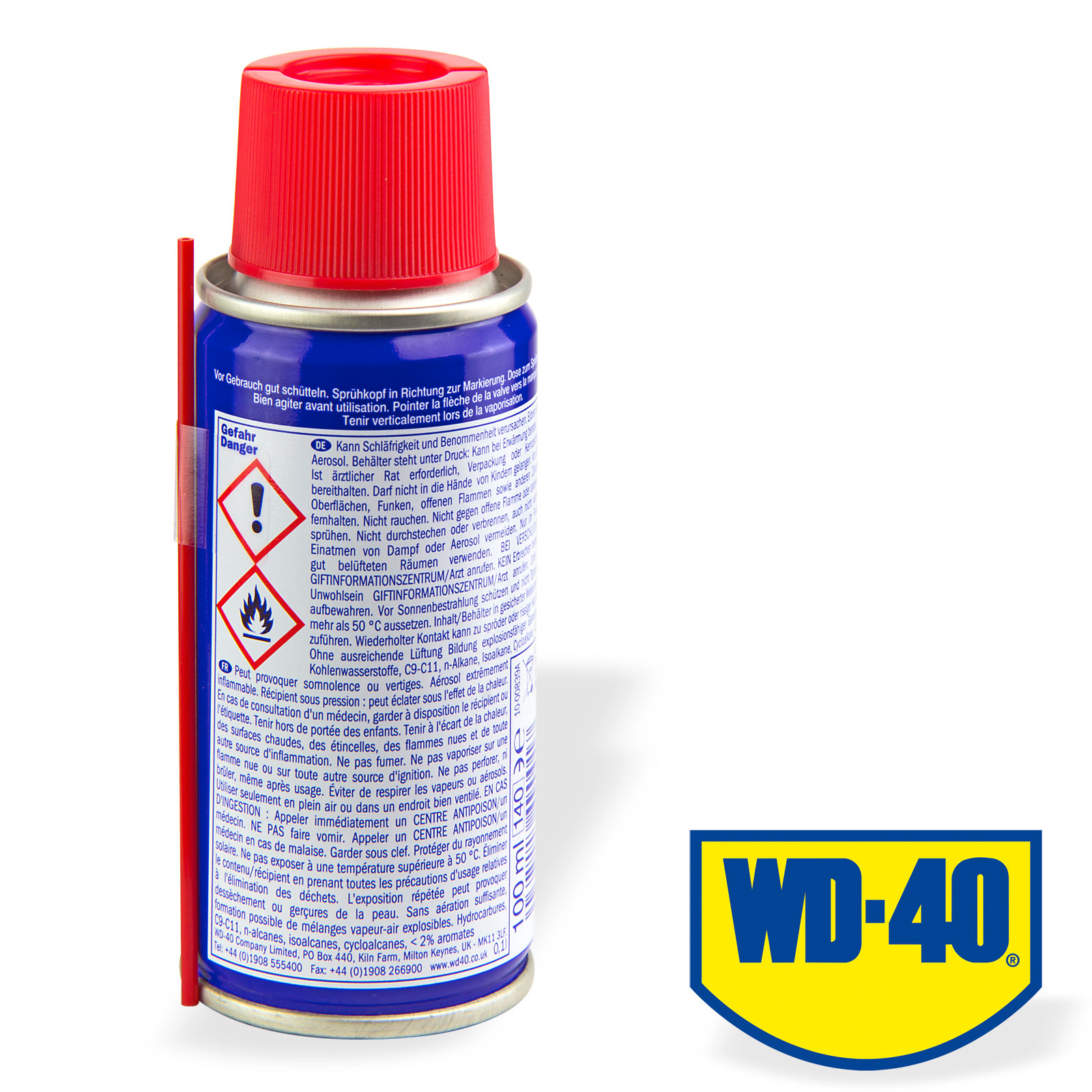 wd 40 vielzweckspray multifunktions spray 100 ml rostl ser. Black Bedroom Furniture Sets. Home Design Ideas
