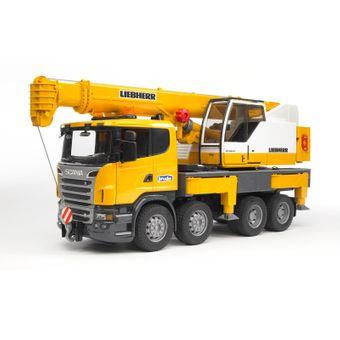 Bruder Scania Liebherr Kran-LKW R-Serie mit Sound – Bild $_i