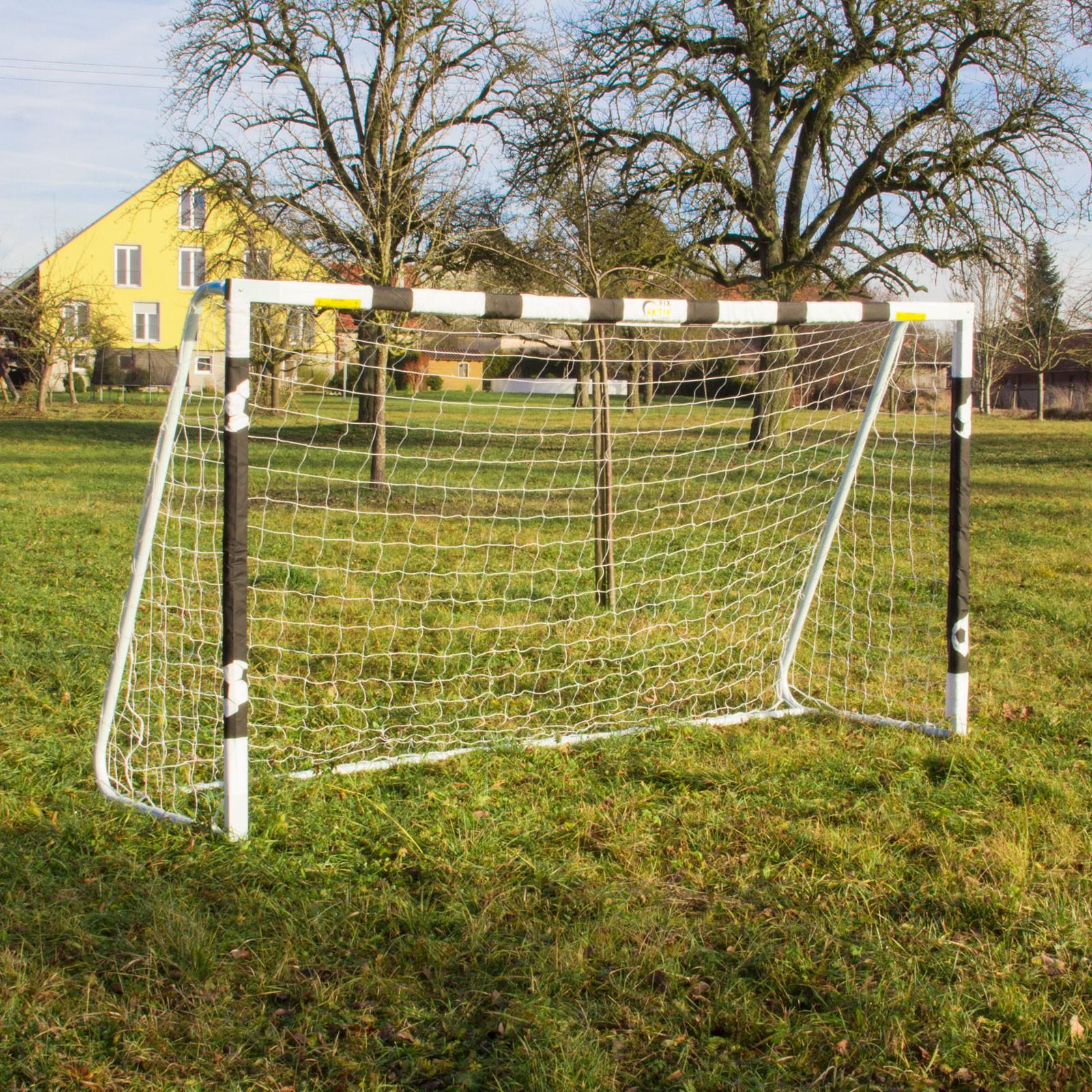 Garten Fußballtor Mit Netz 300x90x160 Cm Turin