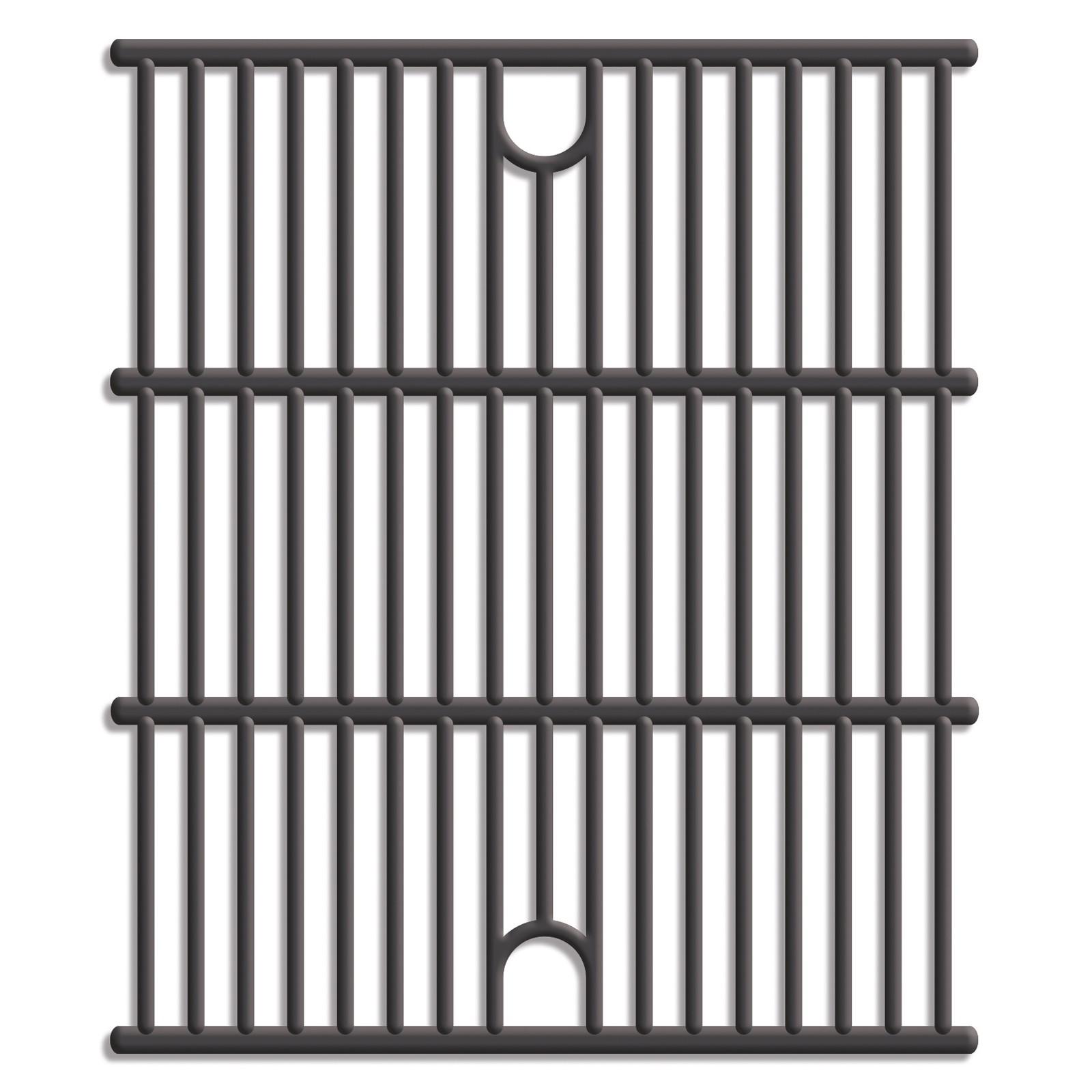 Tepro Universal Guss Grillrost Set 2 x ca. 36 x 40 cm 8589