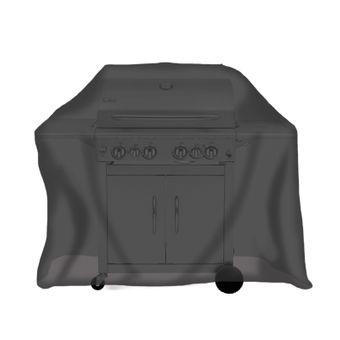 Tepro Schutzhülle - für Gasgrill groß, schwarz – Bild $_i