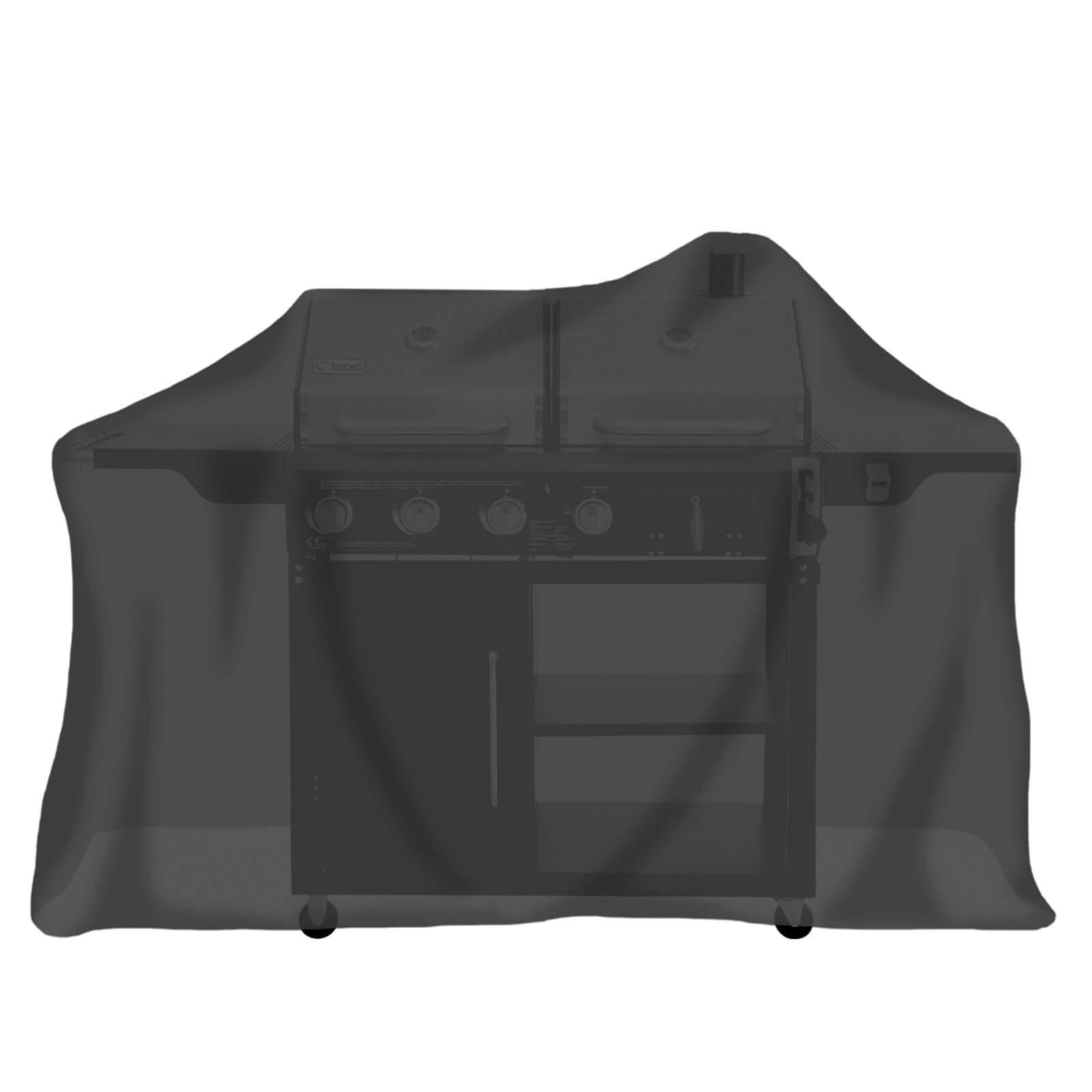 Tepro 8120 Universal Abdeckhaube Bank 3 Sitzer schwarz