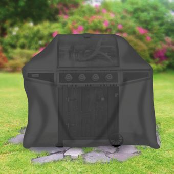 Tepro Grillabdeckung für Gasgrill extra tief, schwarz – Bild $_i