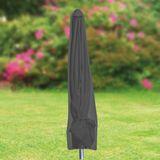 Tepro Schutzhülle für Sonnenschirm groß, schwarz