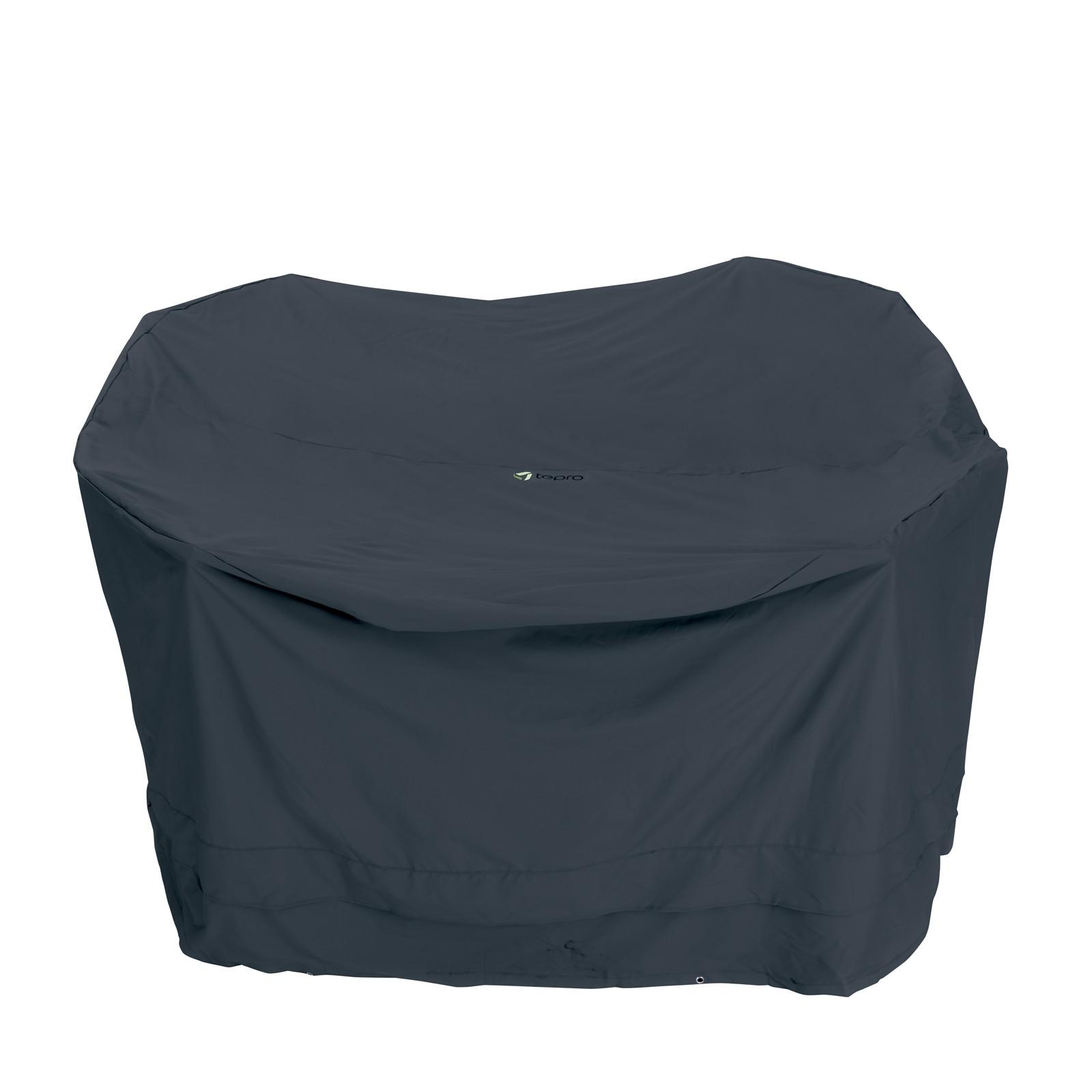 tepro abdeckplane schutzh lle klein f r gartenm bel. Black Bedroom Furniture Sets. Home Design Ideas