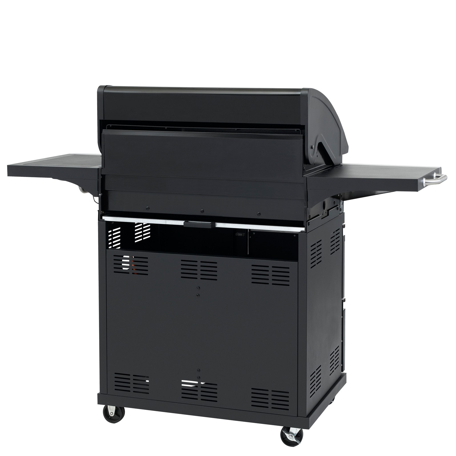 tepro gasgrill bbq grillwagen 4 edelstahl brenner gas barbecue grill fairmont ebay. Black Bedroom Furniture Sets. Home Design Ideas