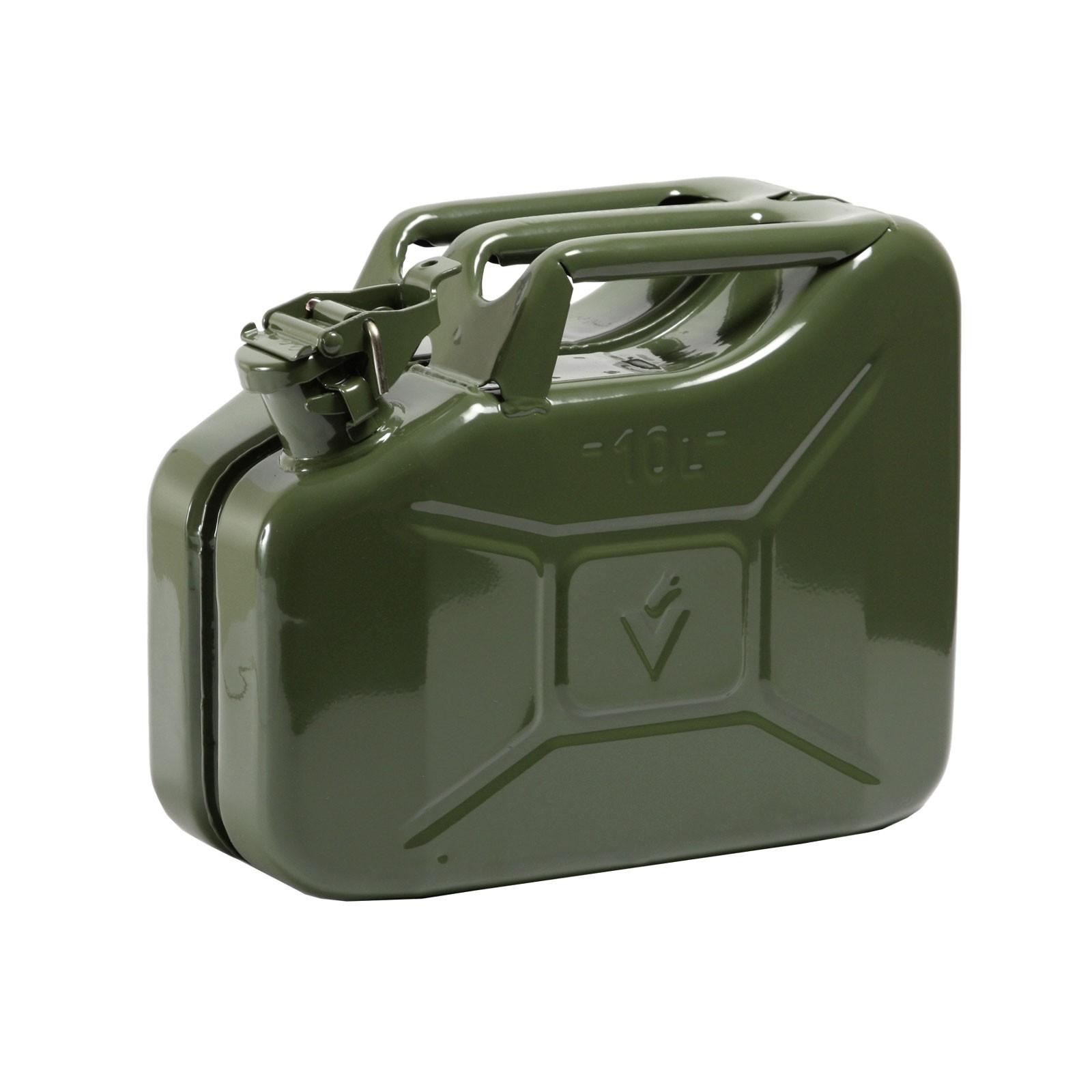 Hausmarke Benzinkanister 10 Liter Stahlblech Kanister 038981