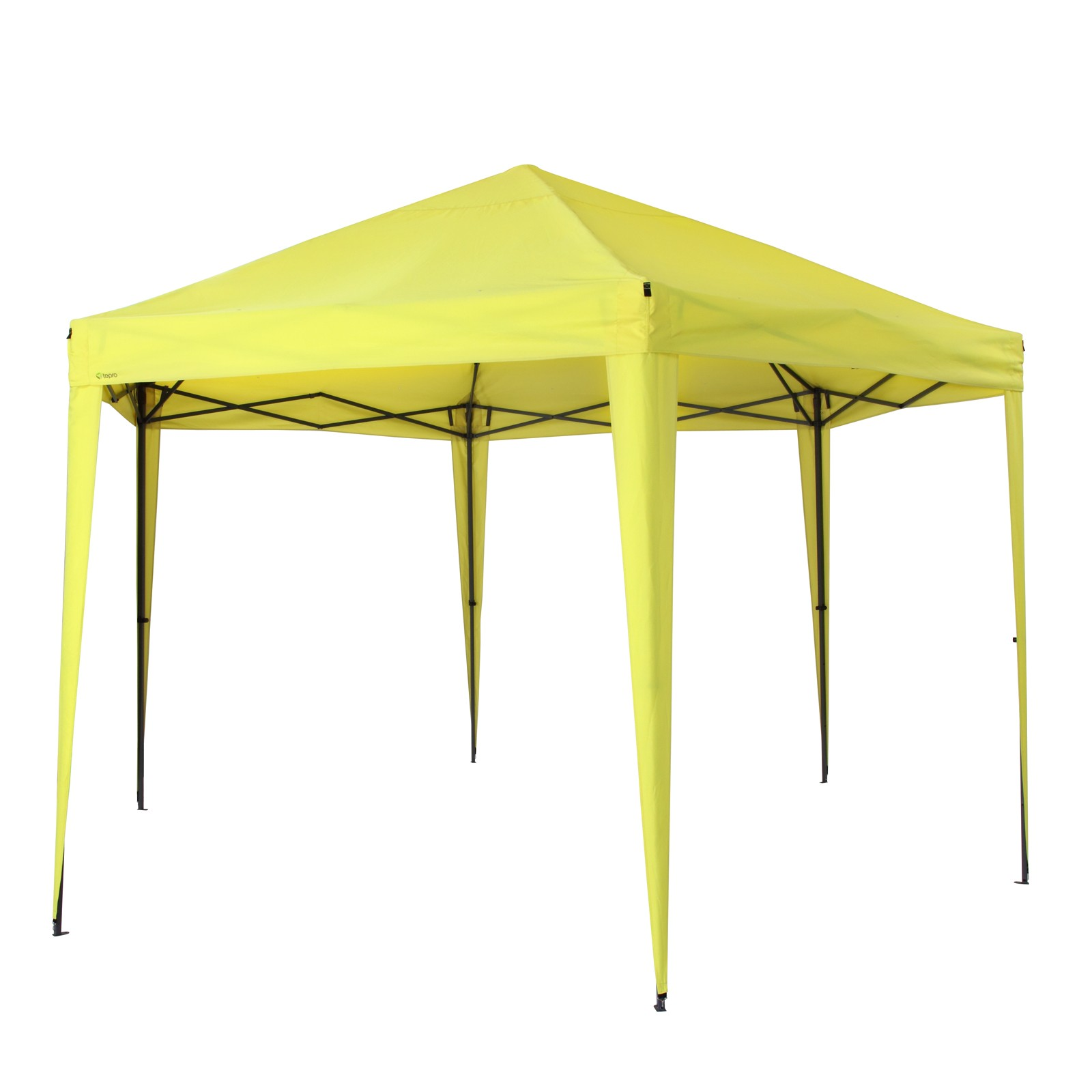 Tepro Pavillon Faltpavillon Gartenpavillon Aruba lemon Partyzelt Sonnenschutz 5504