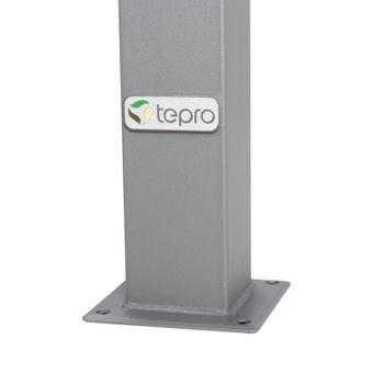 Tepro Pavillon Festzelt 3x3 m Marabo taupe – Bild $_i