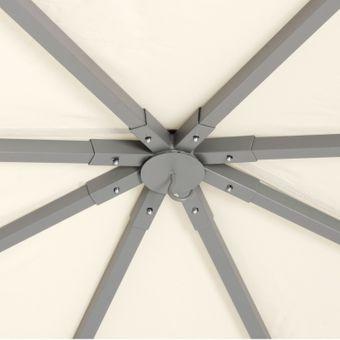 Tepro Pavillon Festzelt 3x3 m Marabo beige – Bild $_i