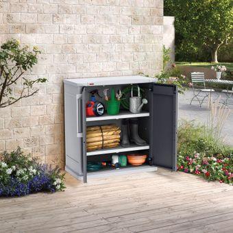 Keter Gartenschrank / Aufbewahrungsschrank Optima Base – Bild $_i